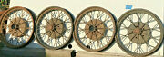 1928 1929 Ford Model A Oem 21 Inch Wheels Rims Set Of Four 4 Good Used