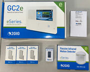 2gig Gc2e-345encrypted Security Alarm And Control Panel 3-1-1 Kit + Verizon Cell