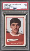 1968 A And Bc Footballers George Best 44 Yellow Backs Psa 1.5