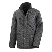 Result Mens Cheltenham Gold Fleece Lined Jacket Water Repellent And Bc2049