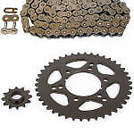 Non O-ring 88l Chain And Sprocket Set 12/42 Fits 1995-1999 Polaris 250 Trail Boss