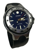 Movado 800 Series Divers Watch 200 Meters 1895.1 Sapphire Crystal Swiss Made