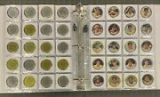 1964 Topps Coins Baseball Complete Set Ex To Ex+ Condition W/ 3 Mickey Mantle