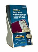 Tabbies 20 Pack With Display Catholic Spanish Gold-edged Bible Indexing Tabs ...