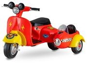 6 Volt Mickey Mouse Scooter With Side Car Dm