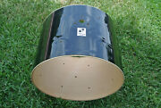 Sonor Force 2001 22 Or 22x16 Bass Drum Shell In Black For Your Drum Set S151