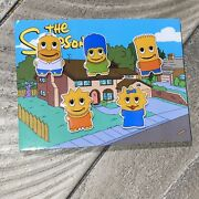 Peccy Simpsons 5 Pin Set Homer Marge Lisa Bart Maggie