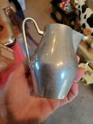 Vintage Mid Century Reed And Barton Pewter P202 Jug Pitcher