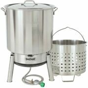 Bayou Classic 82-qt Steam Or Boil Stainless Steel Kit Pack Of 2