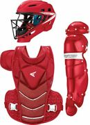 Easton Womens Jen Schro The Very Best Fastpitch Catchers Set Red | White Md