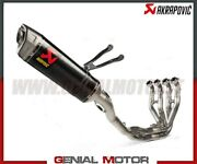 Full System Exhaust Carbon/stainless Steel Akrapovic For Kawasaki Zx-10 Rr 2021