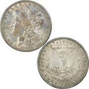 1895 O Morgan Dollar Au About Uncirculated Details 90 Silver 1 Us Coin