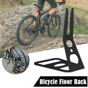 Cycling Bike Stand Portable Floor Rack Bicycle Park Lightweight Triangle Rear