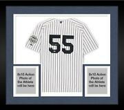 Frd Hideki Matsui Yankees Signed White Authentic Jersey And Inaugural Season Patch