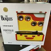 Record Store Day Rsd 2021 Crosley Beatles Yellow Submarine Turntable / Player