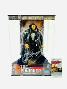 The Punisher Signed Toy Biz 12 Marvel Action Figure Statue Creator Gerry Conway