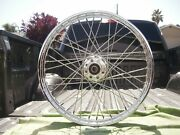 Harley 21 Laced Front Wheel Spokes And03900-07 Fxdwg Dyna Softail