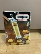 Vintage Ampia Biscuits Marcato Cookie Press Made In Italy New Opened Box