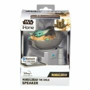 Disney Star Wars The Mandalorian The Child Ihome Speaker Bluetooth Rechargeable