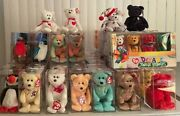Ty Beanie Babies Collection Of 82 Babies With Boxes