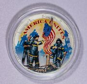2001 American Silver Eagle Remembering Our Heroes Itemj7135
