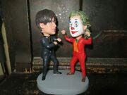 Bully Maguire And Joker Bobblehead Nice Super Cool Toby Spider-man Joaquin Phoenix