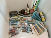 Train Lot Of Mixed Vintage Train Cars Atlas Parkway Bachmann Town Parts