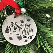 Personalized Our First Home Ornament Christmas Ornament Tree Decoration Ornament