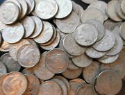 5 Face = 1 X Roll Roosevelt Dimes = 50 Coins 90 Silver 3.5+ Ozs Free Ship