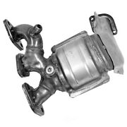 Catalytic Converter With Integrated Exhaust Manifold-calcat Front Right Walker