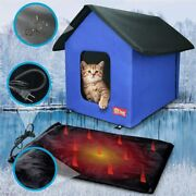 Heavy Duty Indoor/outdoor Pet/cat House│standard With Heat Option + Many Colors