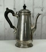 And Co Makers Sterling Silver Coffee Pot Teapot Colonial Style 9 1941