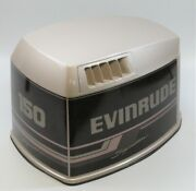284740 Johnson Evinrude 1995 Top Cowling Engine Cover Hood 150 175 Hp Like New