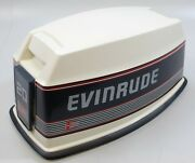283613 Johnson Evinrude 1989-91 Cowling Hood Engine Cover 20-35 Hp New Take Off