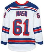 Rick Nash Ny Rangers Gu 61 White Jersey - R1 Of The 2016 Stanley Cup Playoffs