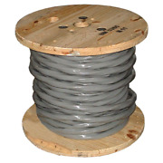 Southwire Stranded Al Ser Cable 250 Ft. 4/0-4/0-4/0-2/0 Gray