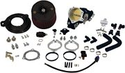 Sands Cycle Cable Operated 70mm Induction Throttle Body Kit W/air Cleaner
