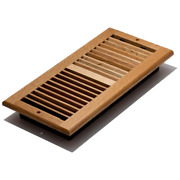 Vent Register Oak Wood Louvered Wall Ceiling 6 In X 14 In Air Ventilation Cover