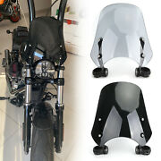 Abs Plastic Motorcycle Windscreen Windshield For Harley Dyna Softail Models Us