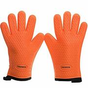 Kp Silicone Smoker Oven Gloves -extreme Heat Resistant Bbq Gloves -handle Hot