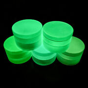 4piece Herbal Smoke Crusher 2.5and039and039alloy Metal Chromium Tobacco Herb Spice Grinder