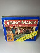 1994 Hoyle Casino Mania Gaming Set W Vhs Cards Poker Chips Learn Blackjack Craps