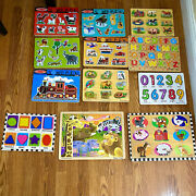 Animal, Farm, And Educational Puzzles