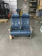 Authentic Crj-200 Aircraft Row Of 2 Airline Economy Seats