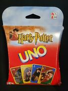 Mattel 2002 Harry Potter Uno Card Game Complete Card Set 110 Pieces Family Game