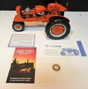 Franklin Mint The Allis-chalmers Wc Tractor 1/12 Scale With Coa And Original Box