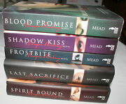 5 Richelle Mead Books Vampire Academy Blood Promise Shadow Kiss Frostbite +