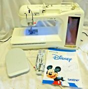 Disney Innovis 4000d Sewing Embroidery Quilting Machine For Repair Or Parts