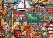Jigsaw Puzzle Americana Antiques And Collectibles Icons Montage 1000 Pieces New