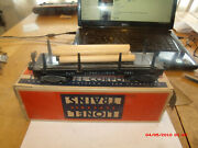 Lionel 3461 Automatic Lumber Car Nice Shape With Box